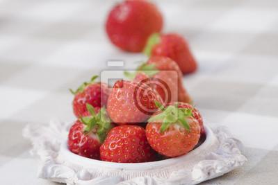 Naklejka Erdbeeren