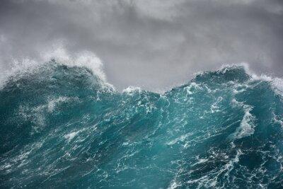 Naklejka fala morza