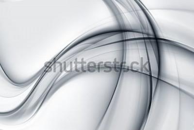 Naklejka Fantastyczna Tapeta Jasna Biała Szara Tapeta