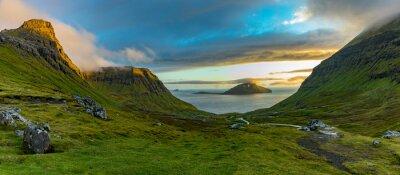 Naklejka Faroe Islands-Koltur island