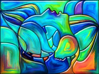 Naklejka Fate w kolorze