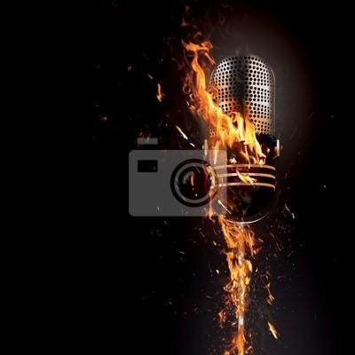 Fiery mikrofon