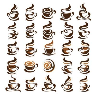 Naklejka Filiżanka kawy wektor