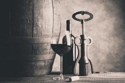 Naklejka Fine Wine