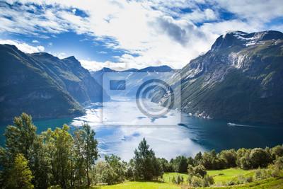 Naklejka fiordo Norvegese