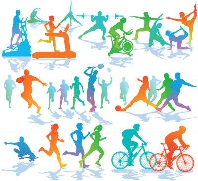 Naklejka Fitness i Sport