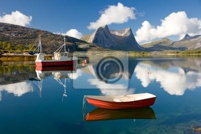 Naklejka Fjord nazywa Efjord w Norwegii