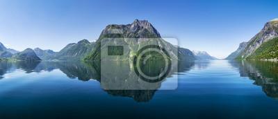 Naklejka Fjord w Norwegen