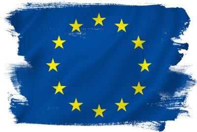 Naklejka Flaga UE