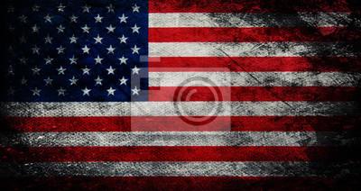 Naklejka Flaga USA
