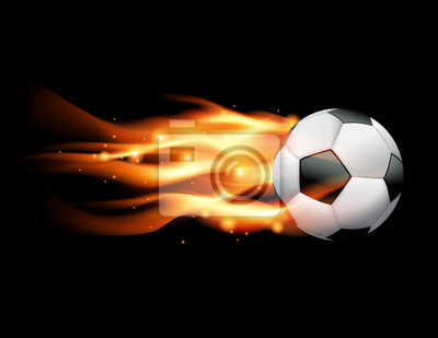 Flaming piłka nożna