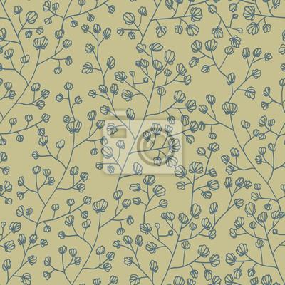 Floral tekstury. Jednolite tło wzór