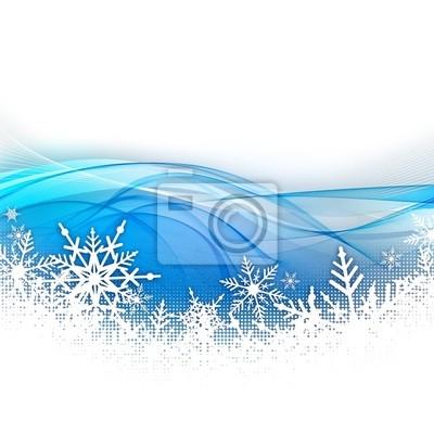Fond niejasne neige et flocon
