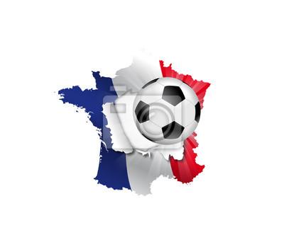 Foot Francja - Carte transpercée