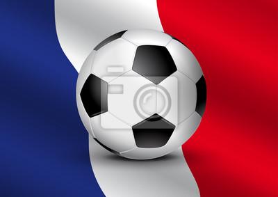 Foot Francja - Drapeau
