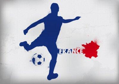 Foot Francja Graffiti