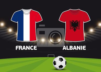 Foot - Francja vs Albanie