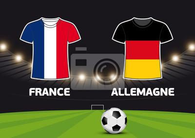 Foot - Francja vs Allemagne