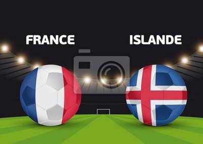 Foot - Francja vs Islande