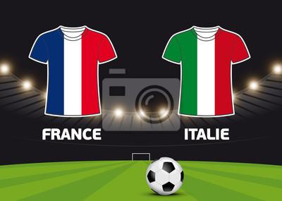Foot - Francja vs Italie