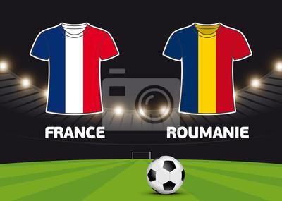 Foot - Francja vs Roumanie