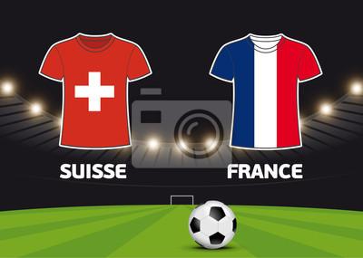 Foot - Francja vs Suisse