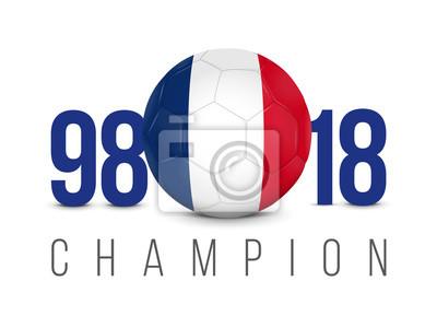 FOOTBALL FRANCE - Champion Anniversaire 1998-2018