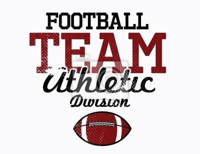 Football Team Athletic Division