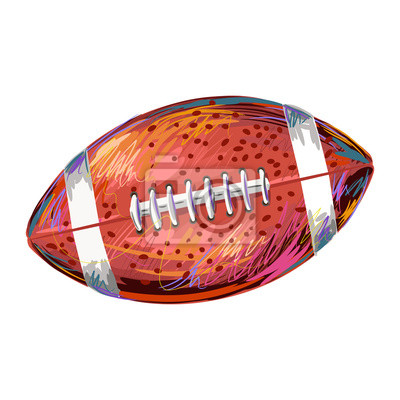 Football Created by professional Artist. all elements are kept in separate layers and grouped also very easy to edit.