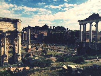 Naklejka Forum Romanum, Rzym