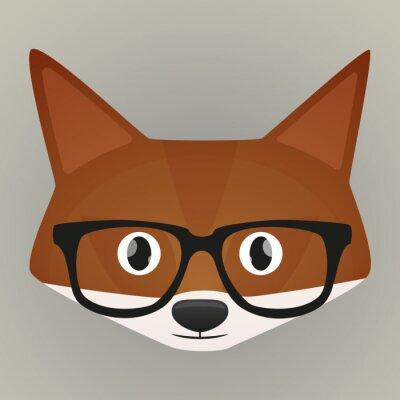 Naklejka Fox awatar
