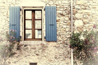 Naklejka Francuski okno