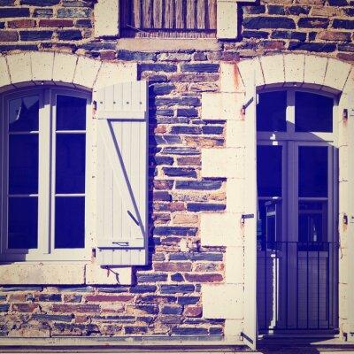 Naklejka Francuskie okna