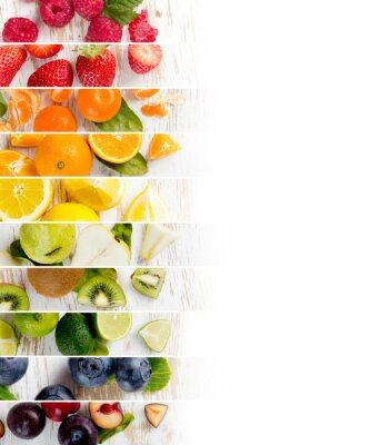 Naklejka Fruit Mix Paski