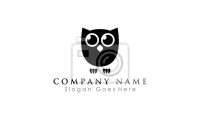 funny owl logo