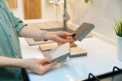 furniture design - kitchen worktop material selection