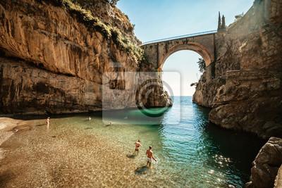 Naklejka Furone, Amalfi coast