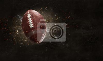 Naklejka Futbol amerykański