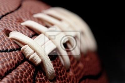 Naklejka Futbol amerykański makro