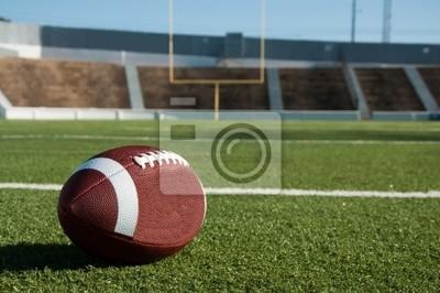 Naklejka Futbol amerykański na pole