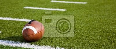 Naklejka Futbol amerykański na polu