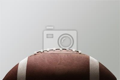 Naklejka Futbol amerykański piłka na tle