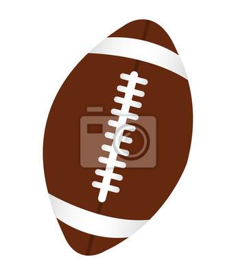 Futbol amerykański sportu ikona ilustracja wektora projektowania