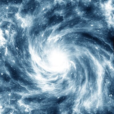 Naklejka Galaktyka spiralna