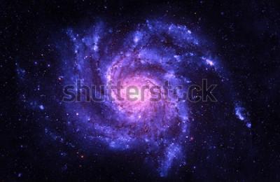 Naklejka Galaktyka spiralna - elementy tego obrazu dostarczone przez NASA