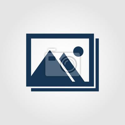 Naklejka Galeria ikona dla witryn i aplikacji