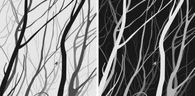 Naklejka gałęzie