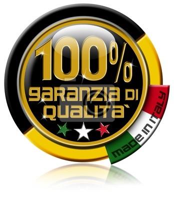 Garanzia di jakościowych w 100% wykonane we Włoszech