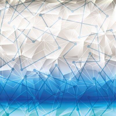 Naklejka Geometria tapety lub tła
