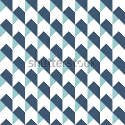 Naklejka Geometryczne streszczenie tło wzór, geometryczne tło, wzór strzałki, wzór chevron